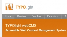 CMS showcase TYPOlight