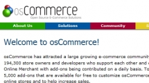 CMS showcase osCommerce