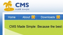 CMS showcase cms made simple
