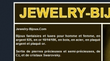 osCommerce showcase jewelry-bijoux.com