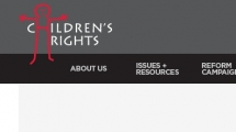 WordPress showcase childrensrights.org