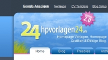 WordPress showcase hpvorlagen24.de 