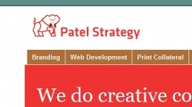 WordPress showcase patelstrategy.com