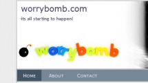 WordPress showcase worrybomb.com
