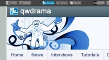 WordPress showcase qwdrama.com