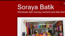 WordPress showcase sorayabatik.com