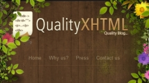 WordPress showcase qualityxhtml.com