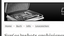 WordPress showcase webzeugkoffer.de
