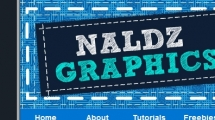 WordPress showcase naldzgraphics.com