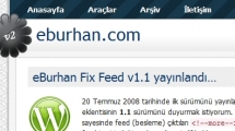WordPress showcase eburhan.com