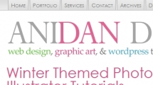 WordPress showcase anidandesign.com