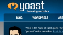 WordPress showcase yoast.com