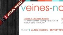 WordPress showcase veines-noires.org