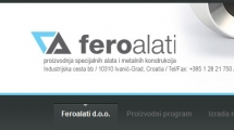 WordPress showcase feroalati.hr