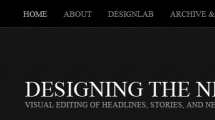 WordPress showcase designingthenews.com