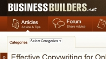 WordPress showcase businessbuilders.net