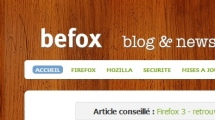 WordPress showcase befox.be