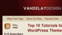 WordPress showcase vandelaydesign.com
