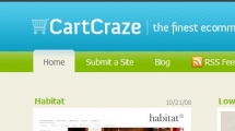 WordPress showcase cartcraze.com