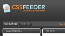WordPress showcase cssfeeder.com