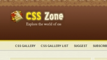 WordPress showcase csszone.org