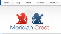 WordPress showcase meridiancrest.com