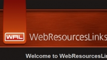 WordPress showcase webresourceslinks.com