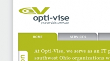 WordPress showcase opti-vise.com