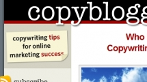 WordPress showcase copyblogger.com