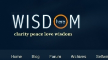 WordPress showcase wisdomhere.com