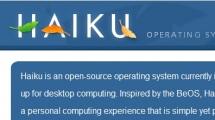 Drupal showcase haiku-os.org