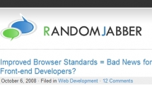 ExpressionEngine showcase randomjabber.com