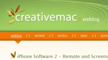 ExpressionEngine showcase creativemac.de