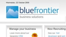 Joomla showcase bluefrontier.co.uk