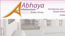 Joomla showcase abhayainfrastructures.com 