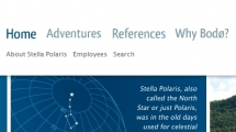 Joomla showcase stella-polaris.no