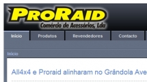 Joomla showcase proraid.com