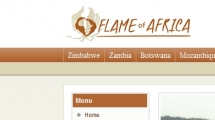 Joomla showcase flameofafrica.com