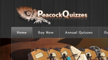 Joomla showcase peacockquizzes.com