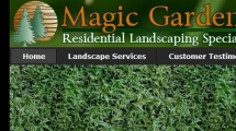 Joomla showcase magic-gardens.com