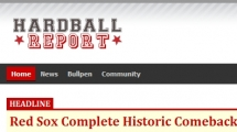 Joomla showcase hardballreport.com