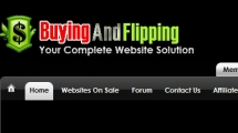 Joomla showcase buyingandflipping.com