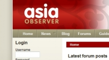 Joomla showcase asiaobserver.com