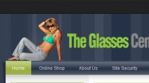 Joomla showcase theglassescenter.com