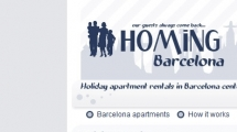 Joomla showcase homing-barcelona.com