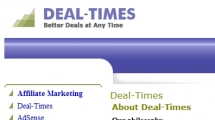 Joomla showcase deal-times.com