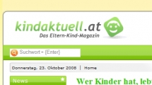 Joomla showcase kindaktuell.at