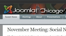Joomla showcase joomlachicago.com