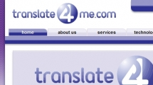 Joomla showcase translate4me.com