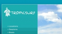 Joomla showcase tropicsurf.net